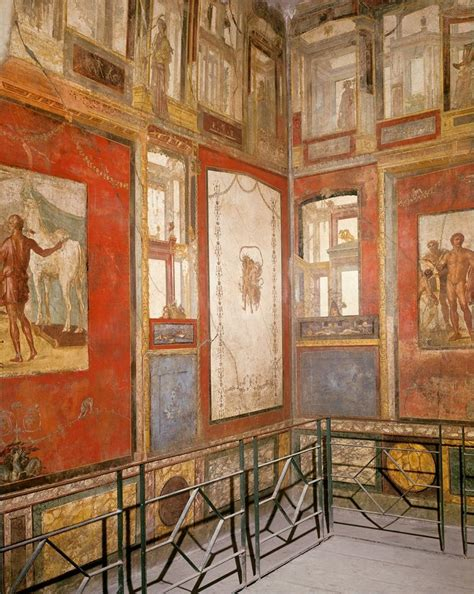 pompeii house of the vettii wall painting khan academy etruscan and roman art art history 101 with brancaccio