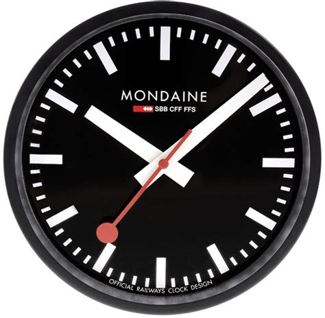 mondaine wall clock mondaine a990 clock 64sbb clocks clock wall clock 25 cm