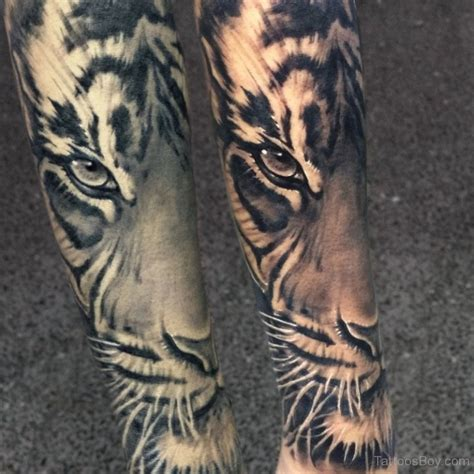 tiger sleeve tattoo designs tiger tattoos designs pictures page 23