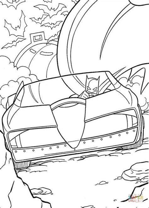 batman cars coloring pages kolorowanka pojazd batmana kolorowanki dla dzieci do druku