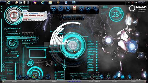 Themes For Windows 7 Iron Man | iron man windows 7 theme 2011 by jeromegamit on deviantart