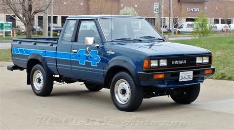 Datsun Truck For Sale by 1983 Nissan 720 King Cab 4x4 For Sale Cars
