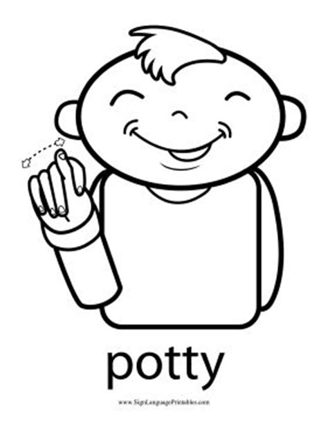 How To Say Bathroom In Sign Language by Toddlers Can Learn To Request A Bathroom With This