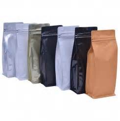 Coffee Bag Flat Bottom Valve Zipper Uk 7 5x18x3 Cm buy coffee bags uk s leading store for stock