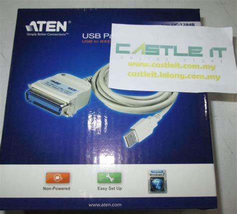 Usb Pararel Printer Cable Athen Uc 1284b aten cable printer parellel usb to i end 2 20 2018 7 59 pm