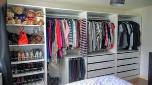 offene garderobe open plan storage with ikea pax wardrobes kip hakes