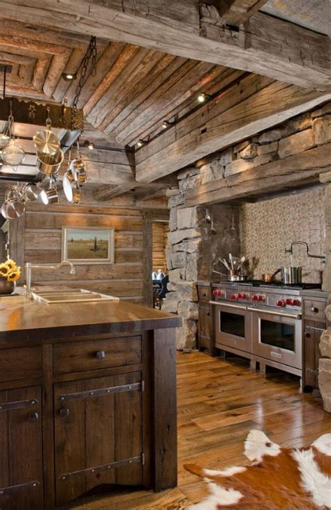 rustic cabin kitchen ideas 25 best ideas about rustic cabin kitchens on pinterest