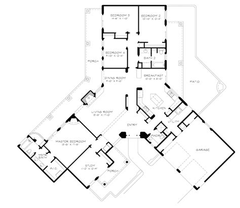 houseplans and more bosswood southwestern style home plan 095d 0044 house