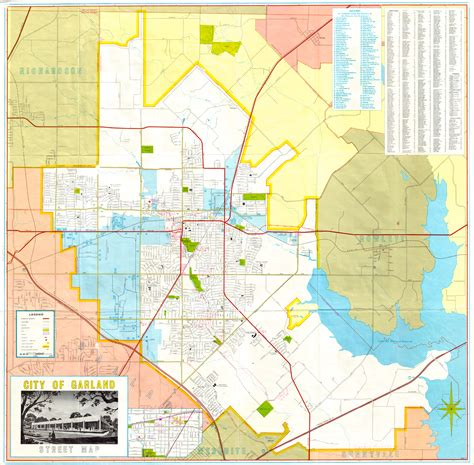 map garland texas map of garland tx my