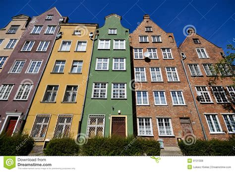 House Building Plans With Prices by Historical Buildings In Gdansk Royalty Free Stock Photos