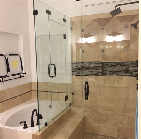 Frameless Shower Doors Dallas Frameless Shower Portfolio Page Exle Pictures Of Our Work