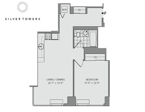 silver towers floor plans silver towers new york ny apartment finder