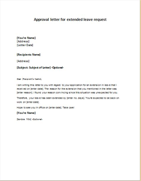 Approval Letter Letter For Approval Of Office Equipment Expense