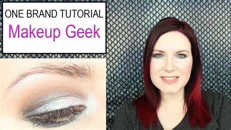 tutorial makeup geek one brand tutorial makeup geek neutral glam duochrome