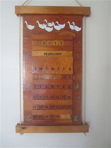 woodworking calendar perpetual wooden calendars search results calendar 2015