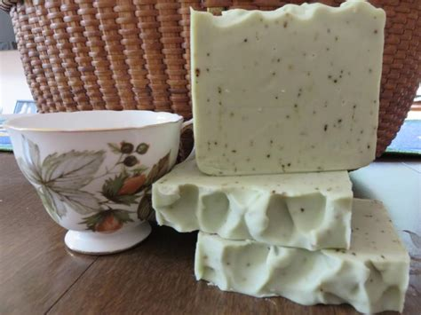 Handmade Soap Process - green tea soap soap handmade soap spa soap