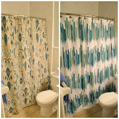 shower curtains ikat or colorful modern