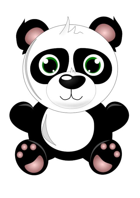 panda clipart free baby panda clip