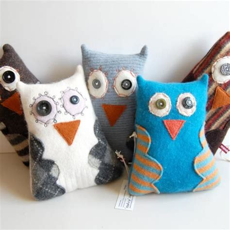 Happy Owl Top 17 best images about sewing stuffies on owl sewing patterns patterns and bookends