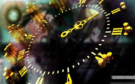 clock abstract style wallpaper  wallpapers