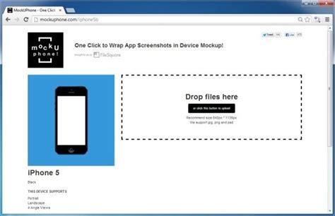 design mockups online free create mockups for mobile devices in two easy steps with