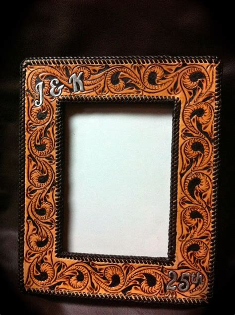 Leather Picture Frame the 13 best images about leather picture frames on