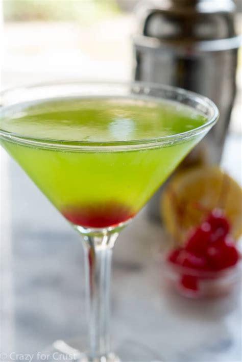 easy cocktails midori martini crazy for crust