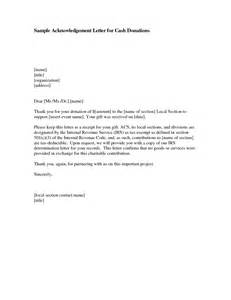 Acknowledgement Letter Exle Best Photos Of Acknowledgement Letter Templates Sle Donation Acknowledgement Letter