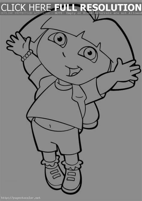 dora backpack coloring page coloring pages for girls dora clipart panda free