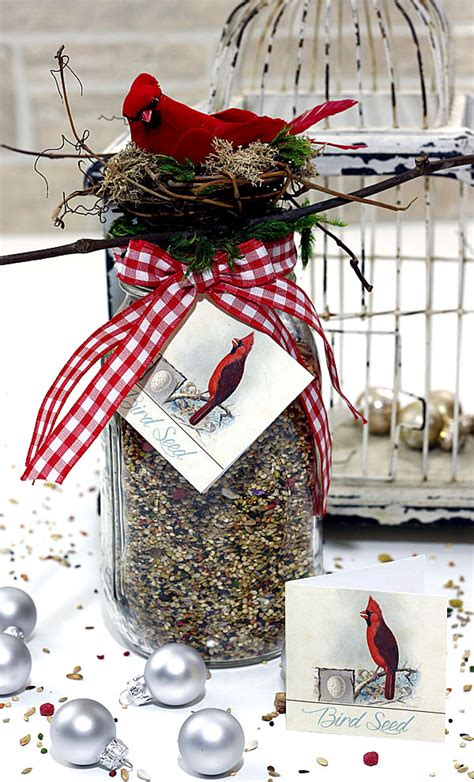 homemade gift for bird lovers tutorial so lovely