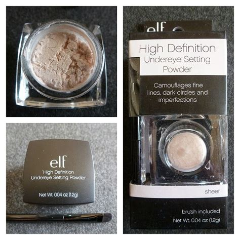 High Definition Eye Setting Powder e l f studio high definition undereye setting powder reviews photos ingredients makeupalley