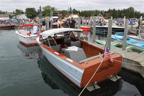 hessel boat show pure michigan pure hessel pure fun classic boats