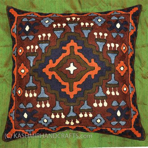 6 beautiful orange pillows for sale moreletapark olx co za embroidered tribal pillows archives kashmir fine arts