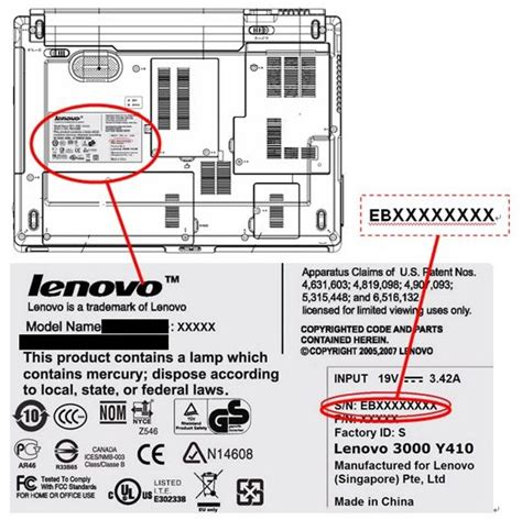 Lenovo Number Search How To Find The Serial Number S N Of Your Computer Lenovo Support