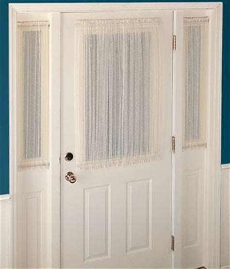 door coverings glass front door sidelight curtains sidelight panel curtains sidelight