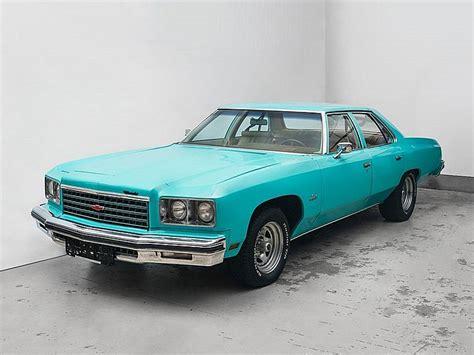 impala years chevrolet impala v8 model year 1976