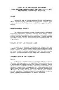 Technical Report Writing Course Objectives by Lspu Siniloan It Narrative Report Format