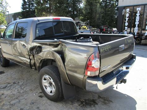 Rancho Toyota Recycling 2011 Toyota Tacoma Sr5 Metallic Brown 4dr 2 7l At 2wd
