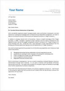 cover letter cover letter format creating an executive cover letter
