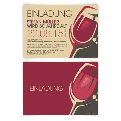 Muster Einladung Weinprobe Kartenmachen De