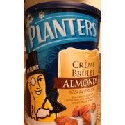 Planters Creme Brulee Almonds by Planters Creme Brulee Almonds Calories Nutrition