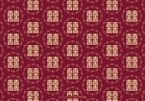 double happiness seamless pattern   vectors clipart graphics vector art