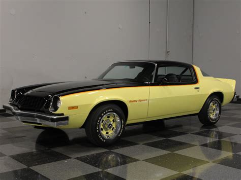 camaro 75 for sale yellow 1975 chevrolet camaro rs for sale mcg marketplace