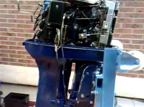 power trim tohatsu nissan 90 (1992) test youtube