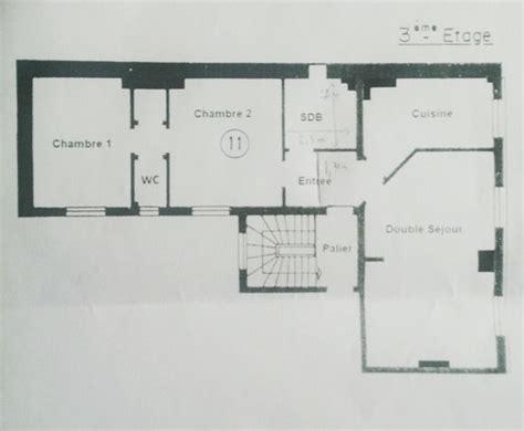 chambre en enfilade besoin d id 233 es pour nous affranchir de deux chambres en