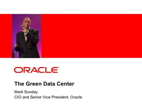 Oracle Employment Background Check Oracle And The Green Data Center