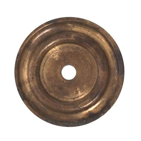classic hardware brass cabinet knob backplate