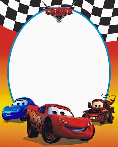 free printable birthday cards lightning mcqueen cars free printable photo frames oh my fiesta in english