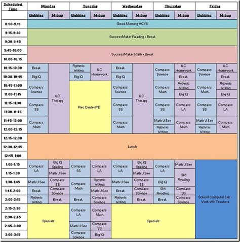 tweaks to the schedule make life easier for caroline and