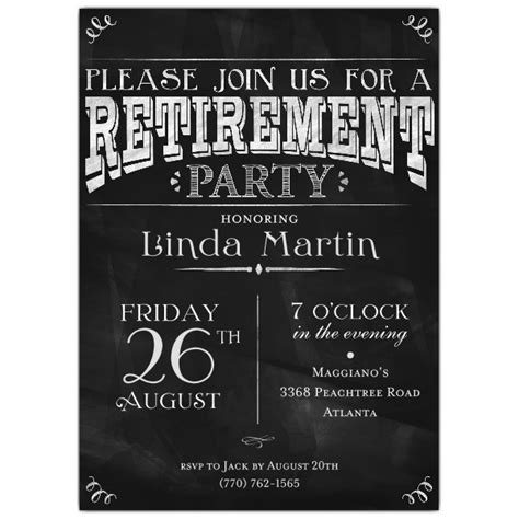 Party Invitation Templates Retirement Party Invites Easytygermke Com Invitation Templates Free Retirement Announcement Template Free